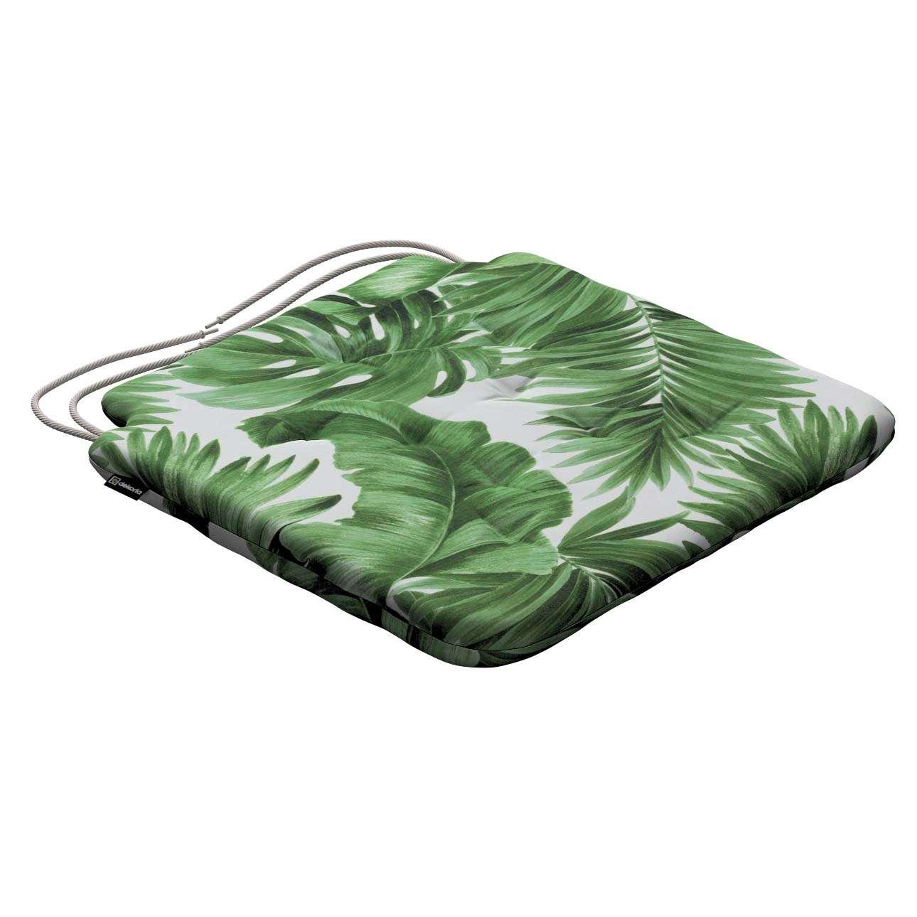 Siedzisko Olek na krzesło 42x41x3,5cm w kolekcji Urban Jungle, tkanina: 141-71