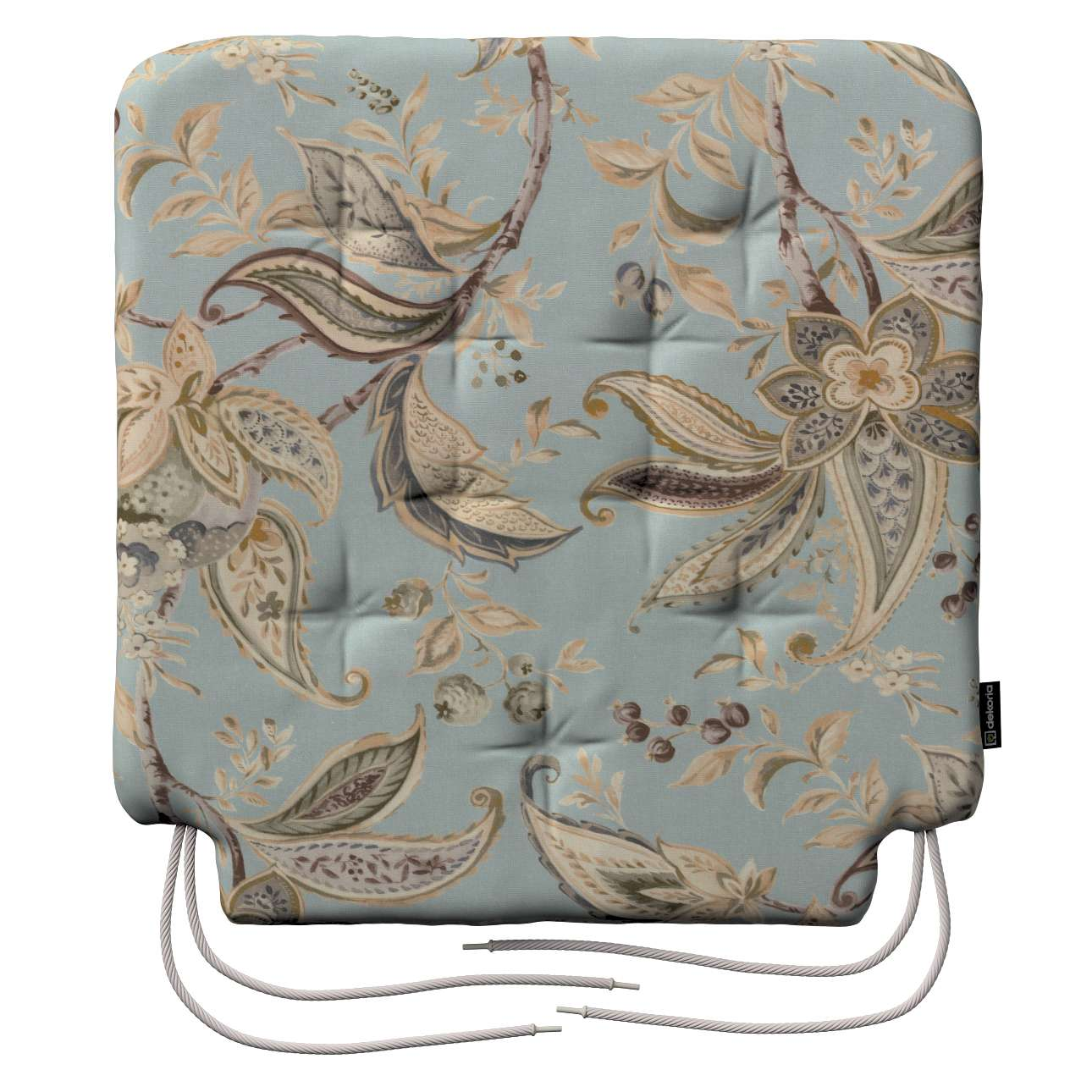 Siedzisko Olek na krzesło w kolekcji Gardenia, tkanina: 142-18