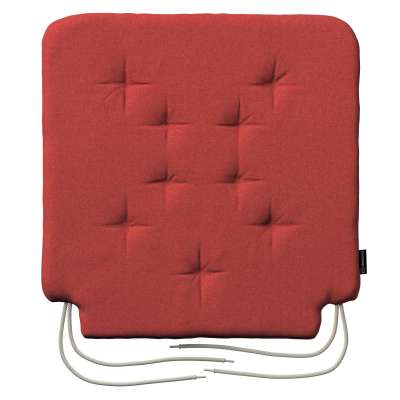 Oleg seat pad with ties 142-33 muted red Collection SALE