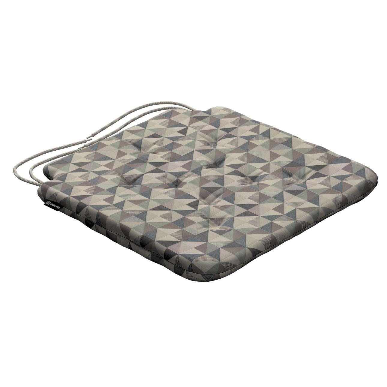 Siedzisko Olek na krzesło w kolekcji Retro Glam, tkanina: 142-84