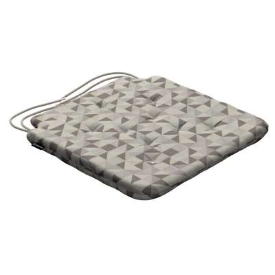 Oleg seat pad with ties 142-85 beige- grey Collection SALE