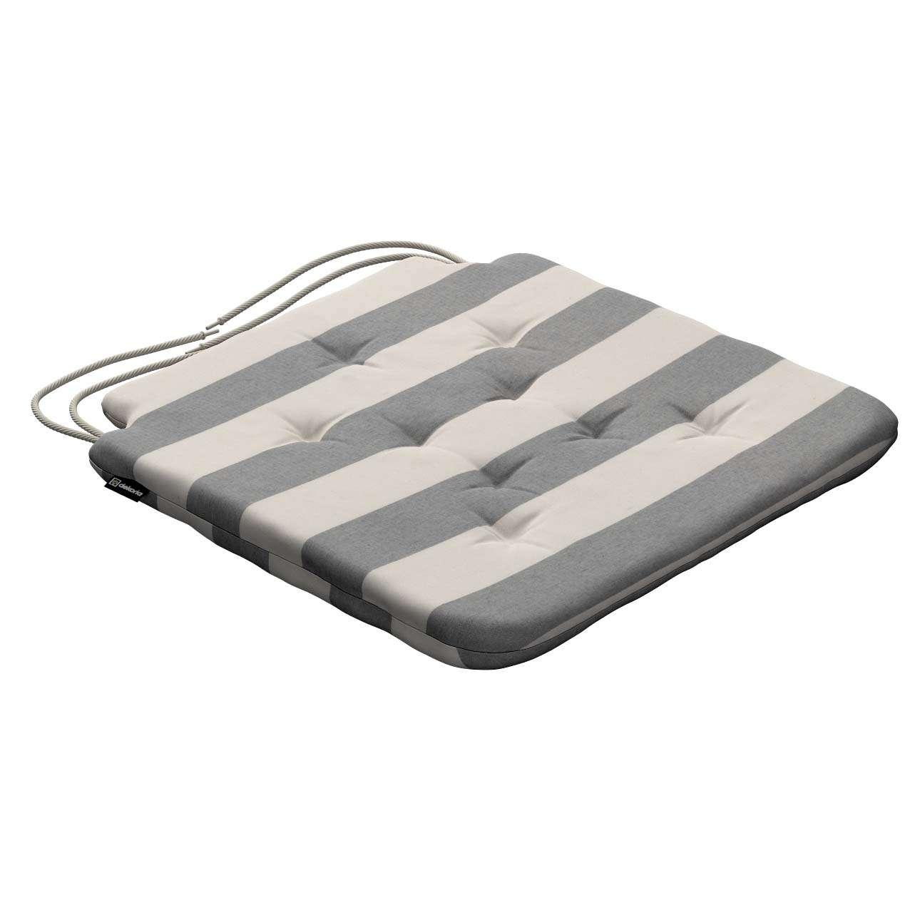 Siedzisko Olek na krzesło w kolekcji Quadro, tkanina: 142-71