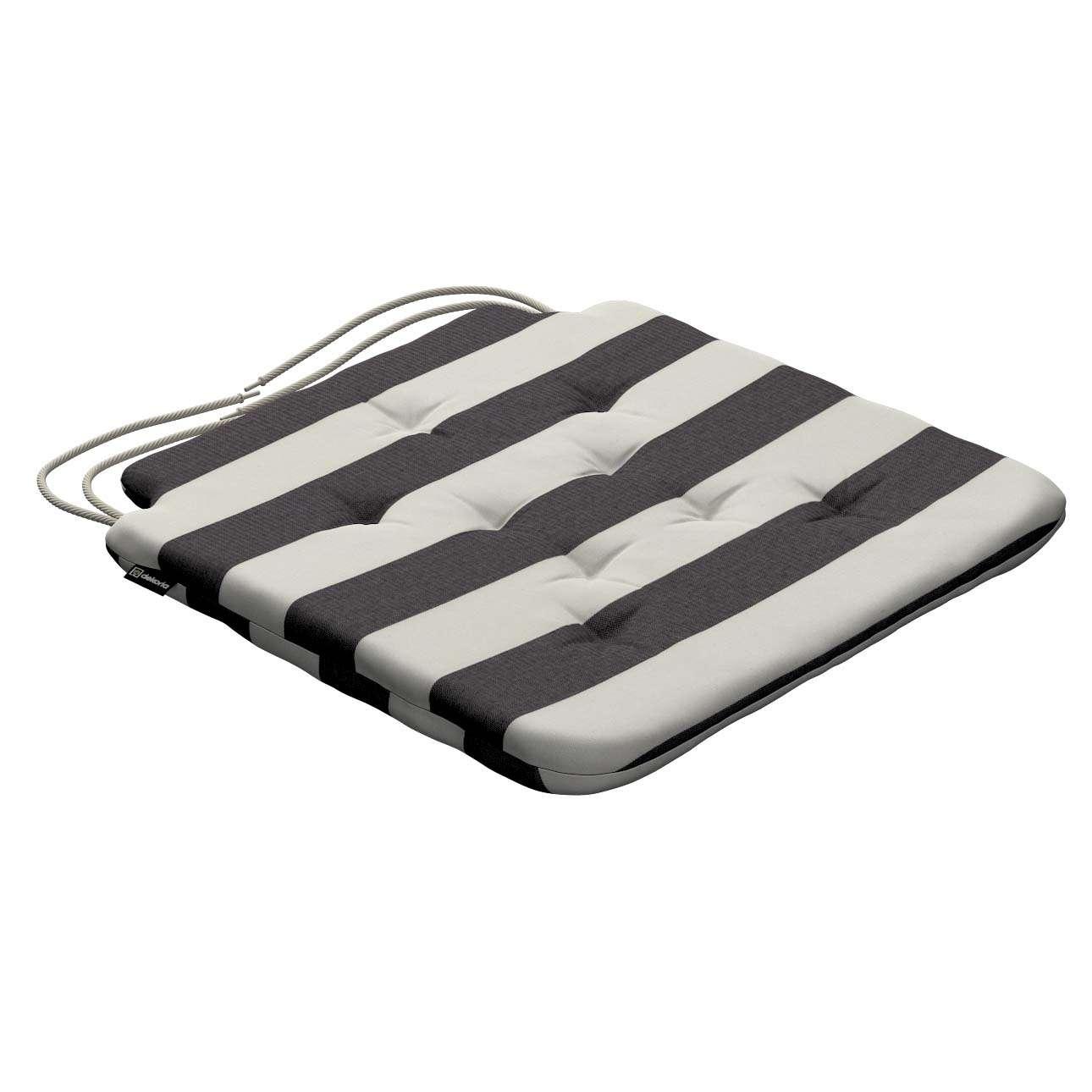 Siedzisko Olek na krzesło w kolekcji Quadro, tkanina: 142-72