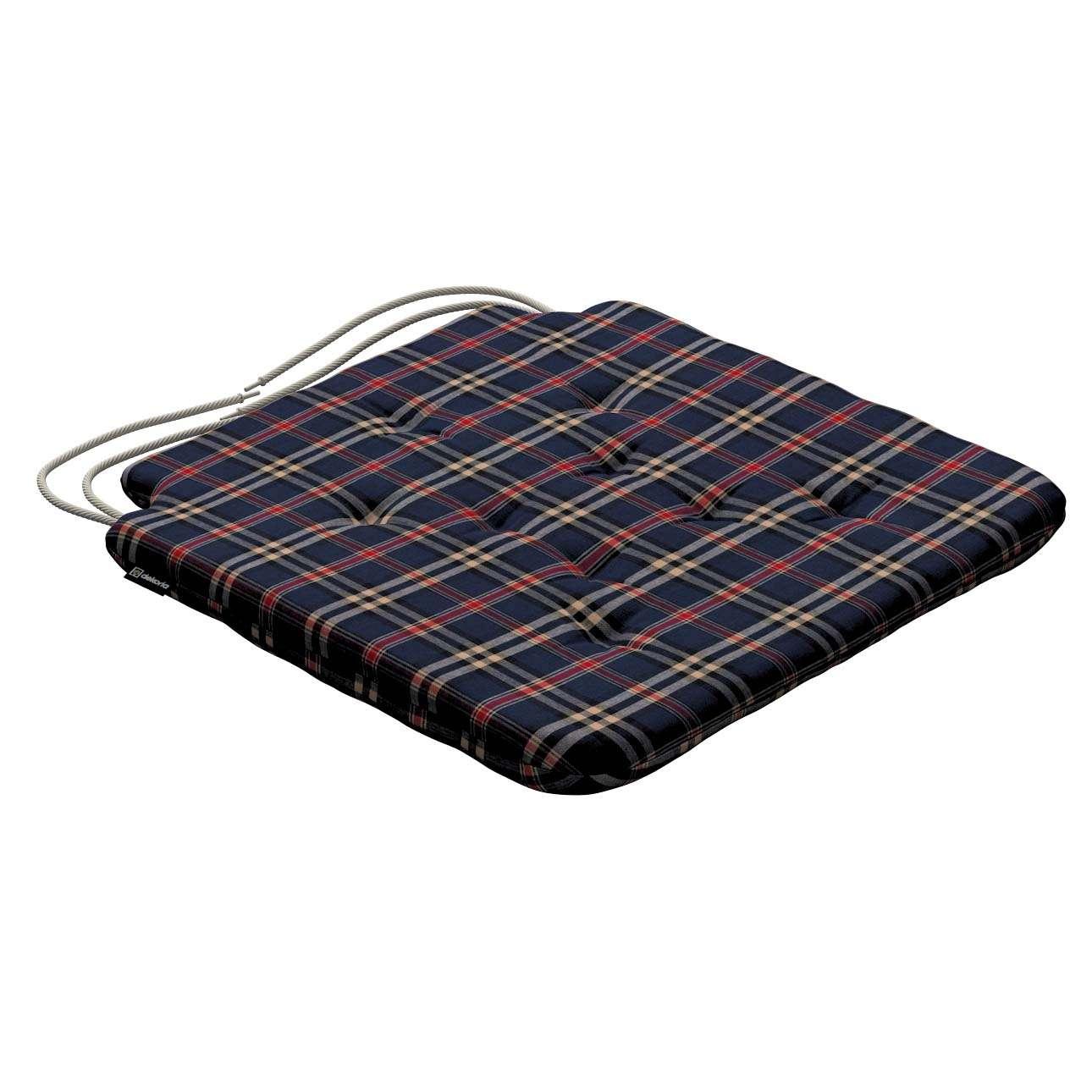 Siedzisko Olek na krzesło w kolekcji Bristol, tkanina: 142-68