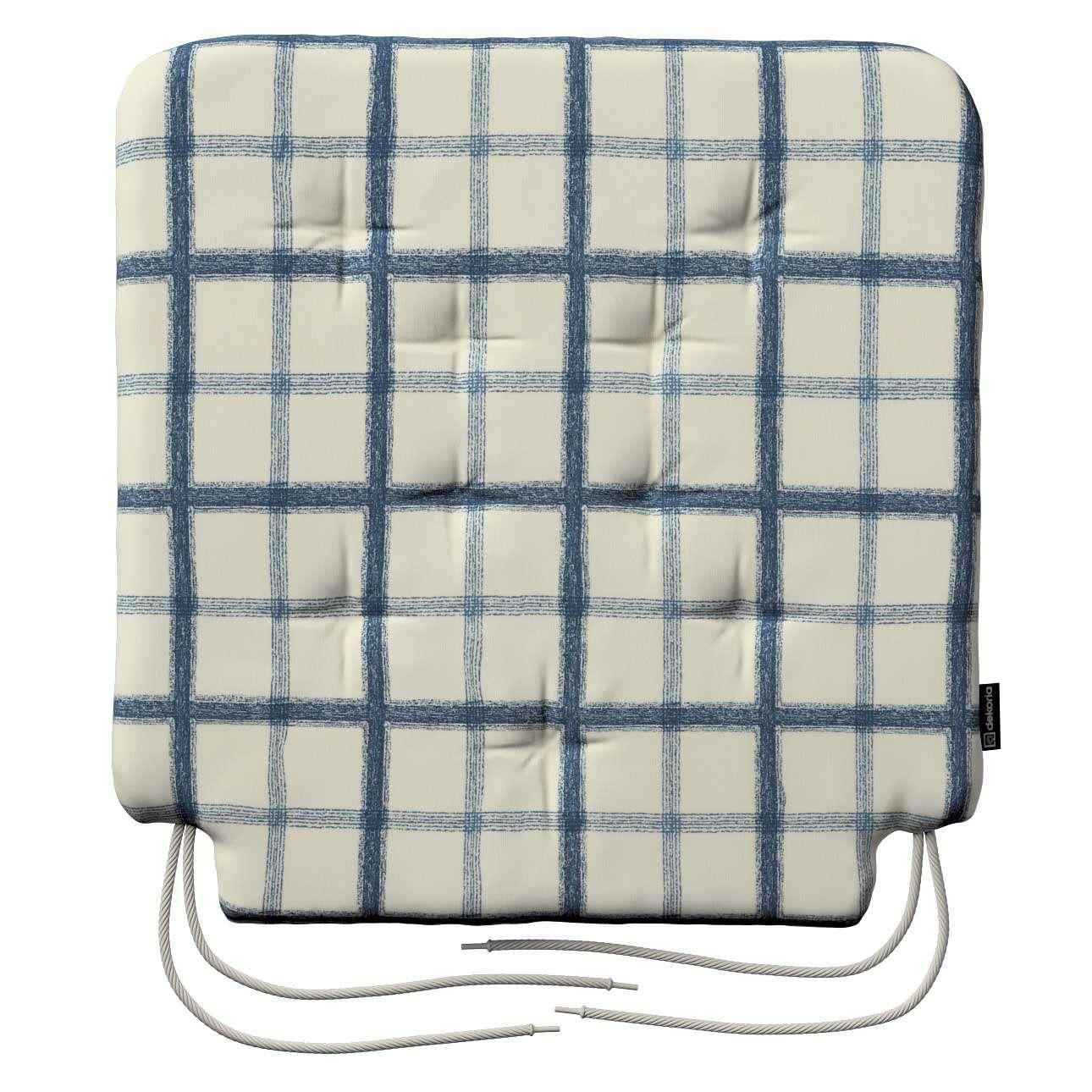 Siedzisko Olek na krzesło 42x41x3,5cm w kolekcji Avinon, tkanina: 131-66