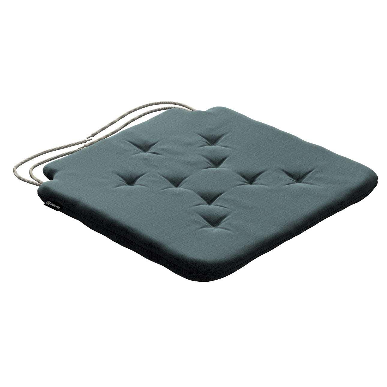 Siedzisko Olek na krzesło w kolekcji Ingrid, tkanina: 705-36