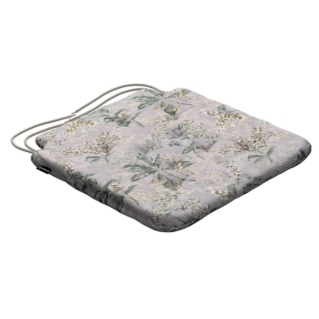 Siedzisko Olek na krzesło w kolekcji Londres, tkanina: 143-37