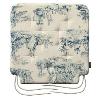 Siedzisko Olek na krzesło w kolekcji Avinon, tkanina: 132-66