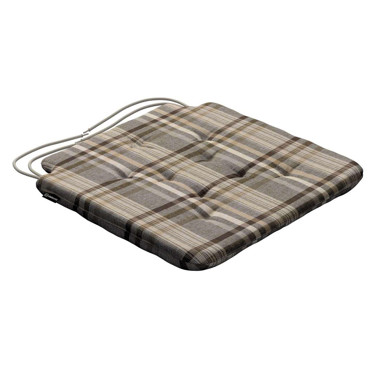 Siedzisko Olek na krzesło w kolekcji Edinburgh, tkanina: 703-17