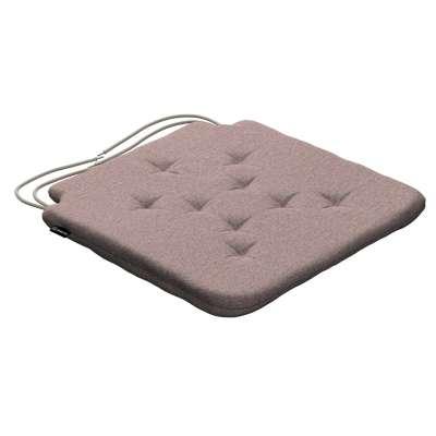 Siedzisko Olek na krzesło 161-88 szaro - różowy melanż Kolekcja Madrid