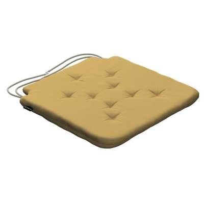 Siedzisko Olek na krzesło 702-41 zgaszony żółty Kolekcja Cotton Panama