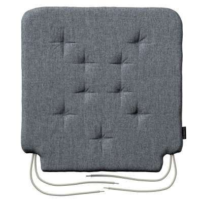 Oleg seat pad with ties 704-86 graphite - gray Collection City