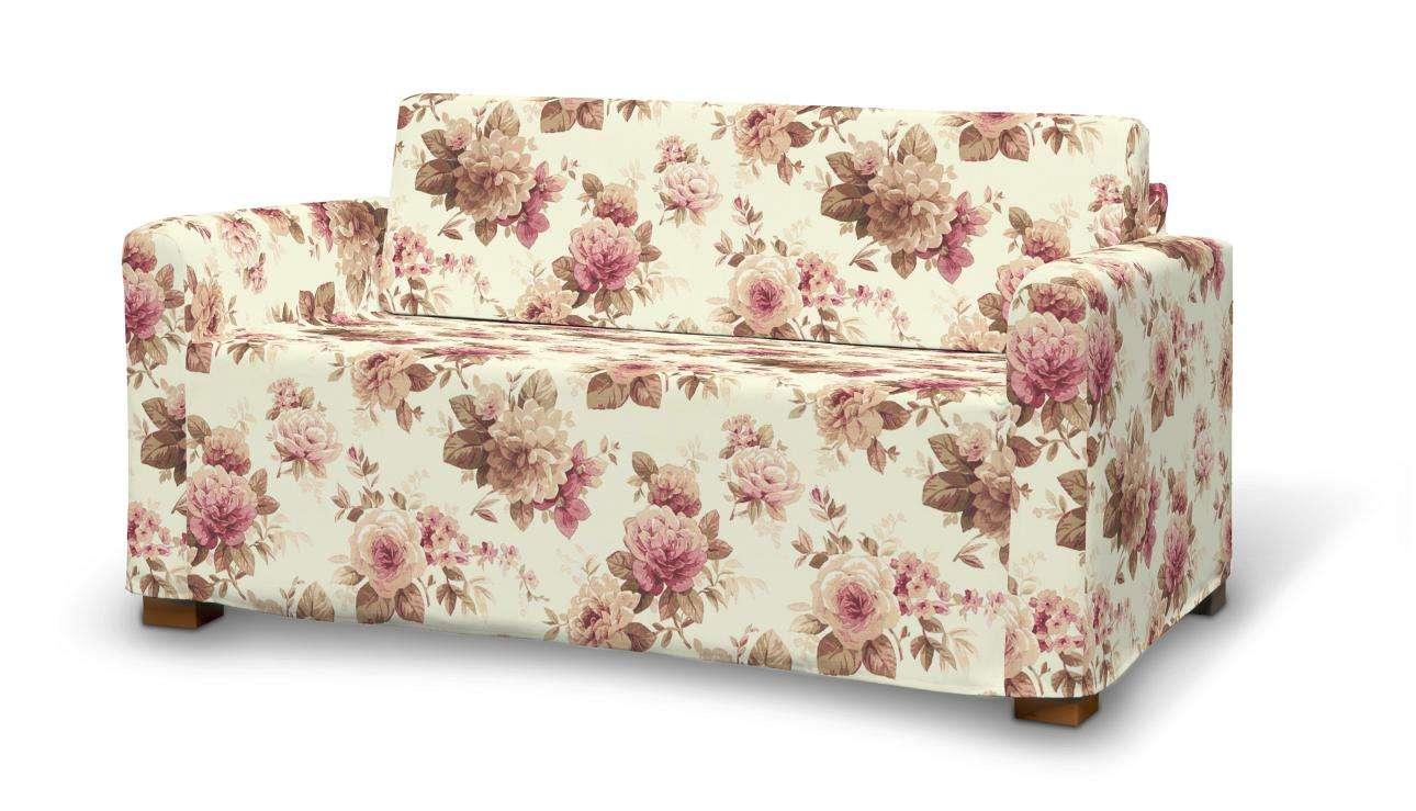 Solsta Sofabezug, beige- bordeaux, Solsta, Mirella