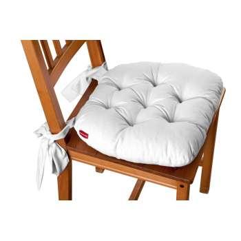Martin seat pad with bows  - Dekoria.co.uk