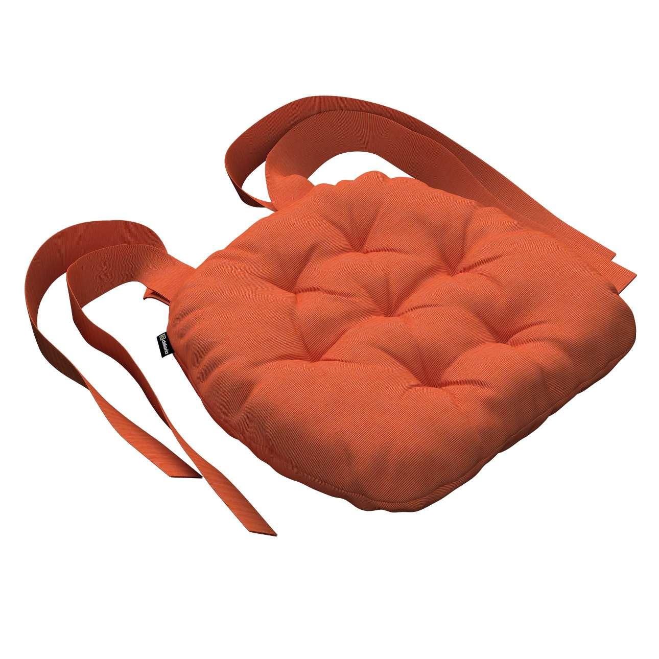 Siedzisko Marcin na krzesło 40x37x8cm w kolekcji Jupiter, tkanina: 127-35