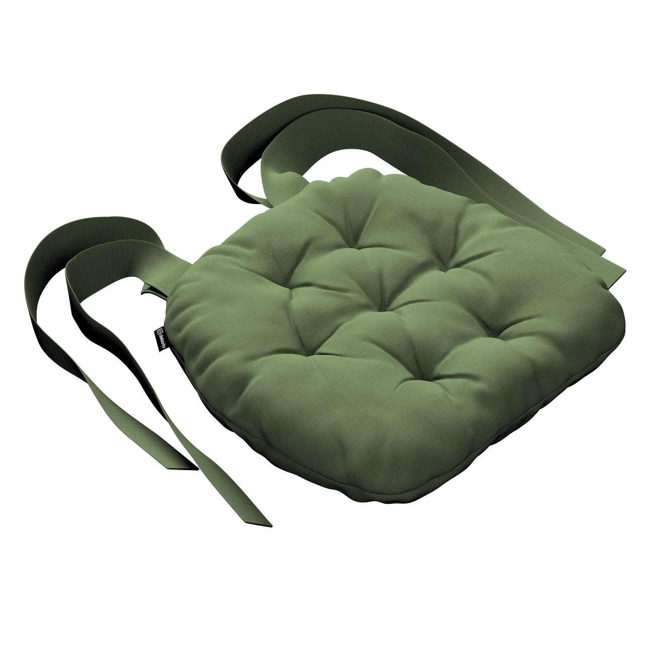 Kėdės pagalvėlė Marcin (apvaliais kraštais) 40 x 37 x 8 cm kolekcijoje Jupiter, audinys: 127-52