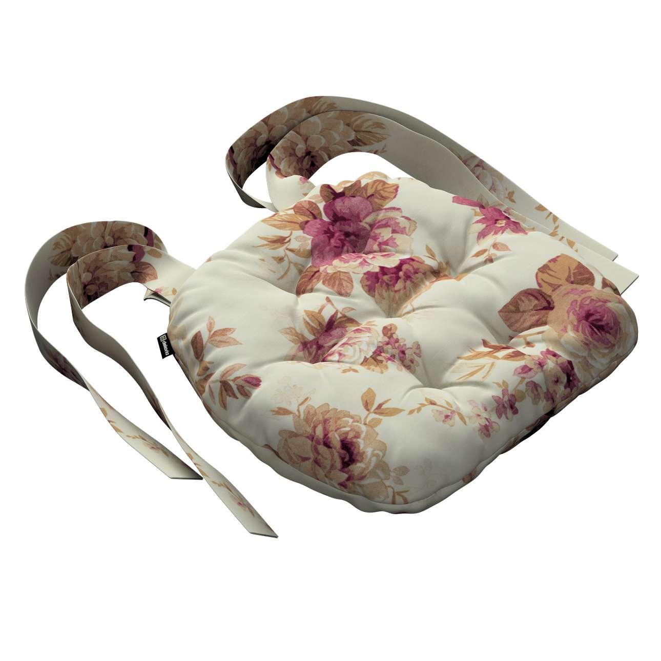 Siedzisko Marcin na krzesło 40x37x8cm w kolekcji Mirella, tkanina: 141-06