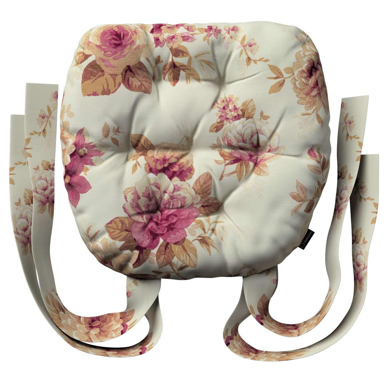 Kėdės pagalvėlė Marcin (apvaliais kraštais) 40 x 37 x 8 cm kolekcijoje Mirella, audinys: 141-06