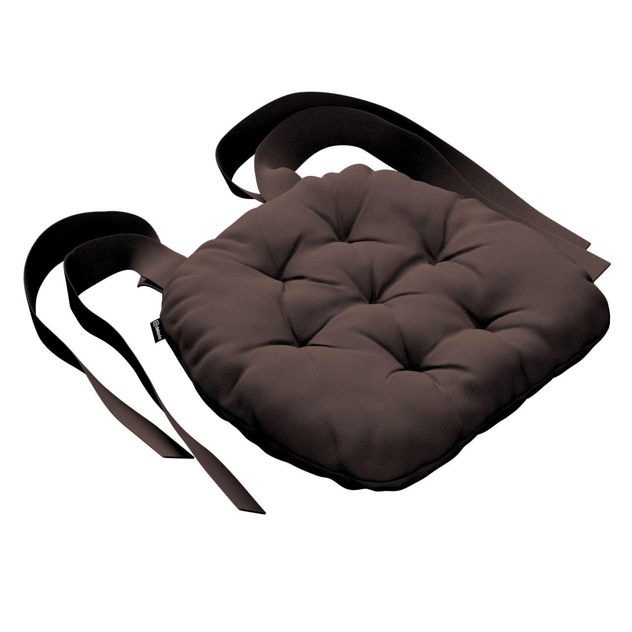 Siedzisko Marcin na krzesło 40x37x8cm w kolekcji Cotton Panama, tkanina: 702-03