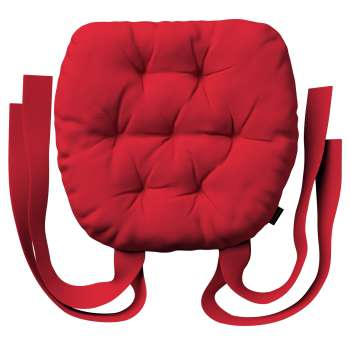 Martin seat pad with bows in collection Panama Cotton, fabric: 702-04