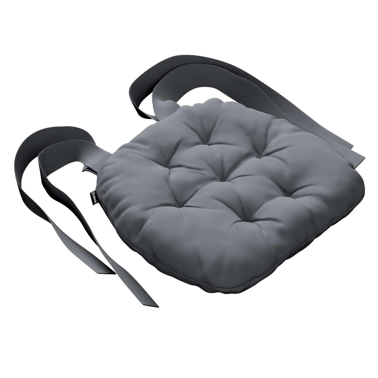 Siedzisko Marcin na krzesło 40x37x8cm w kolekcji Cotton Panama, tkanina: 702-07