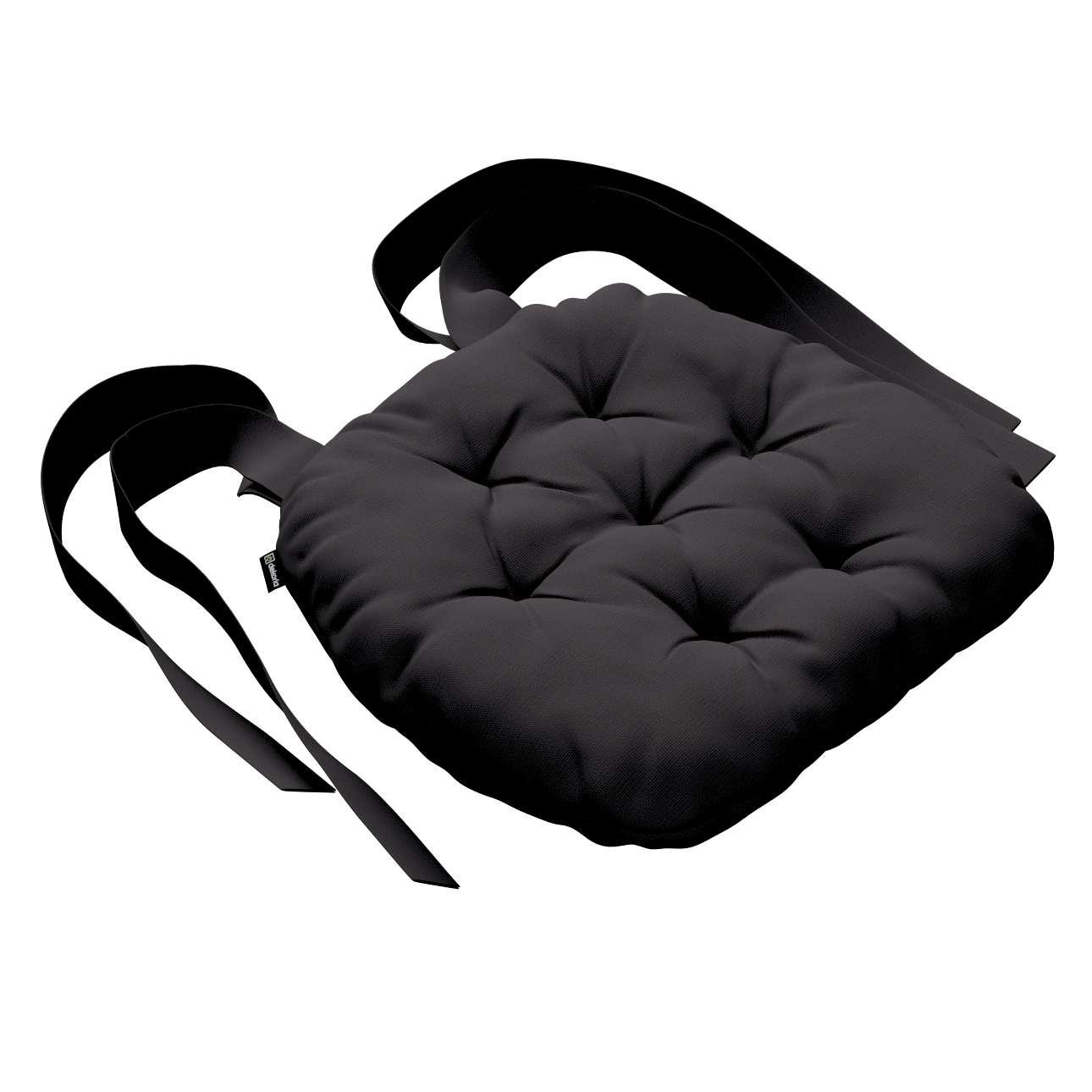Kėdės pagalvėlė Marcin (apvaliais kraštais) 40 x 37 x 8 cm kolekcijoje Cotton Panama, audinys: 702-09