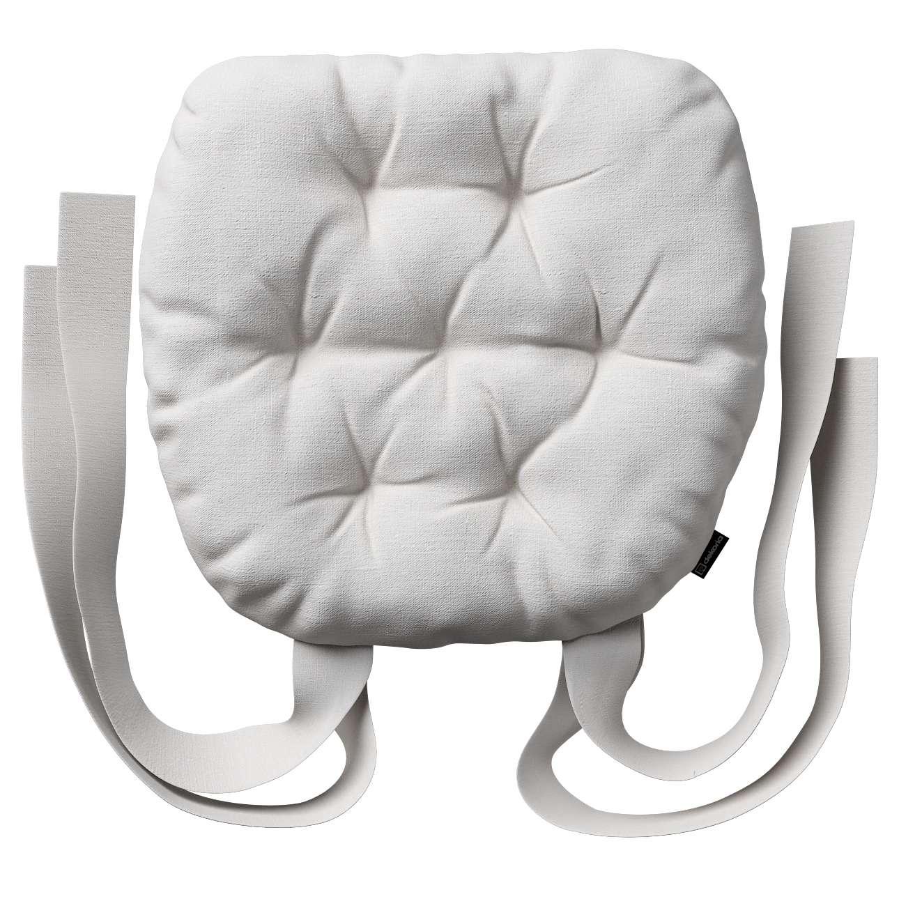 Siedzisko Marcin na krzesło 40x37x8cm w kolekcji Linen, tkanina: 392-04