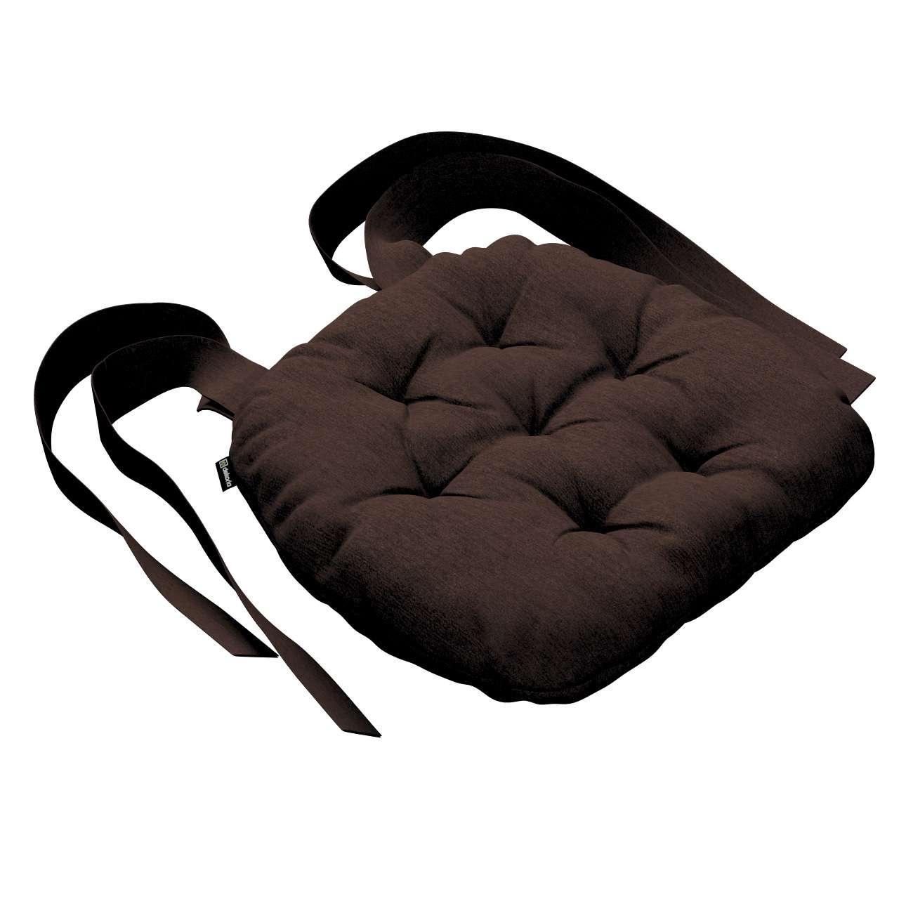 Siedzisko Marcin na krzesło 40x37x8cm w kolekcji Chenille, tkanina: 702-18