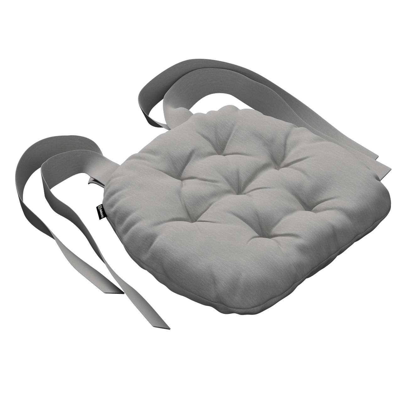 Kėdės pagalvėlė Marcin (apvaliais kraštais) 40 x 37 x 8 cm kolekcijoje Chenille, audinys: 702-23