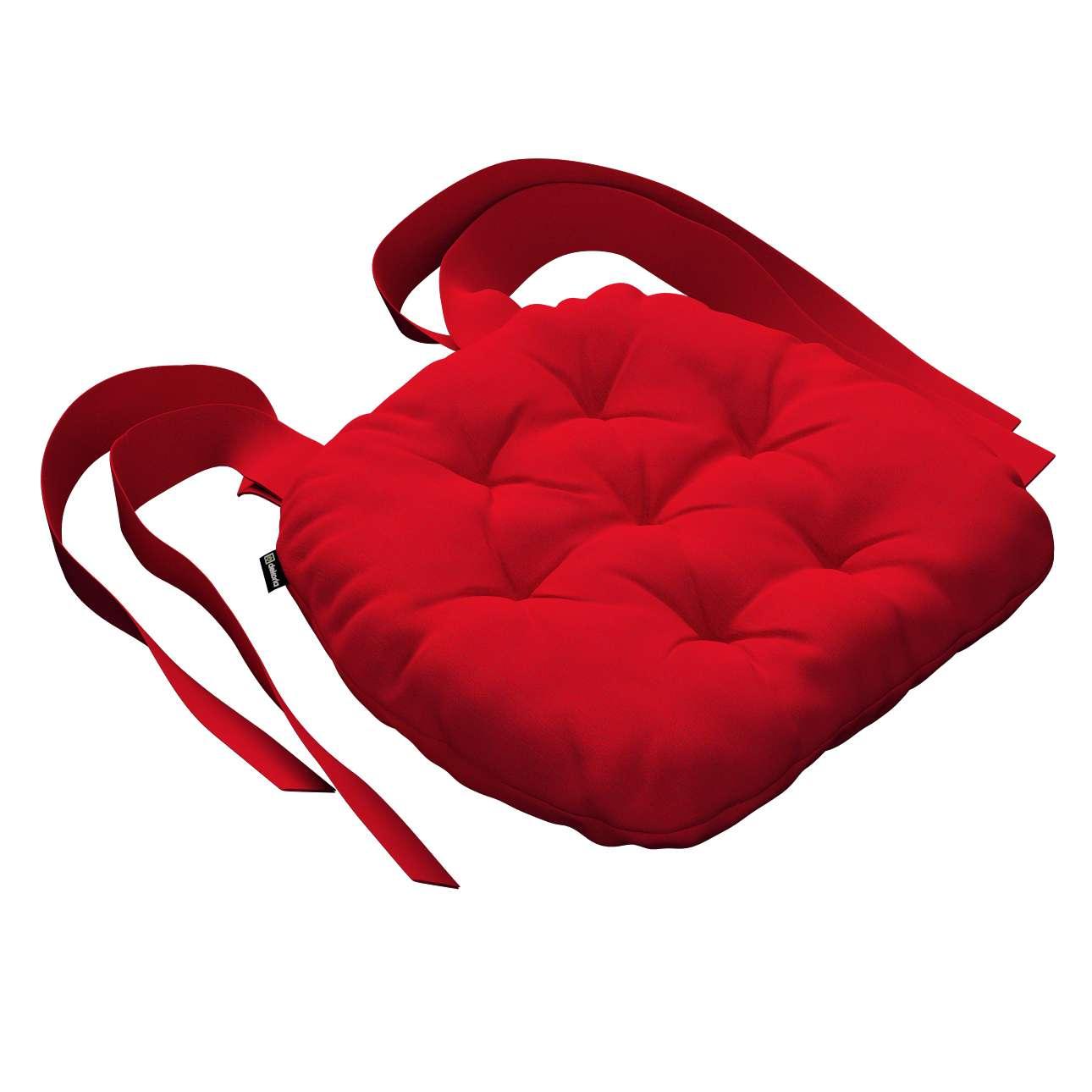 Kėdės pagalvėlė Marcin (apvaliais kraštais) 40 x 37 x 8 cm kolekcijoje Chenille, audinys: 702-24