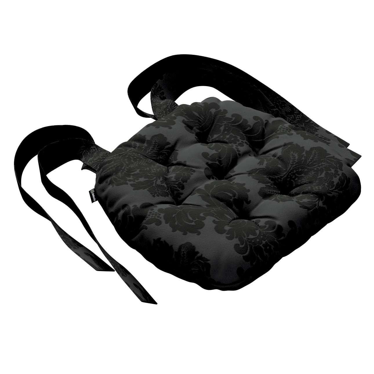 Siedzisko Marcin na krzesło 40x37x8cm w kolekcji Damasco, tkanina: 613-32