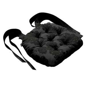 Kėdės pagalvėlė Marcin (apvaliais kraštais) 40 x 37 x 8 cm kolekcijoje Damasco, audinys: 613-32