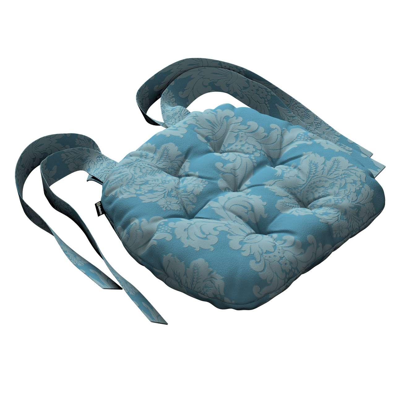 Siedzisko Marcin na krzesło 40x37x8cm w kolekcji Damasco, tkanina: 613-67