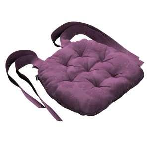 Siedzisko Marcin na krzesło 40x37x8cm w kolekcji Damasco, tkanina: 613-75