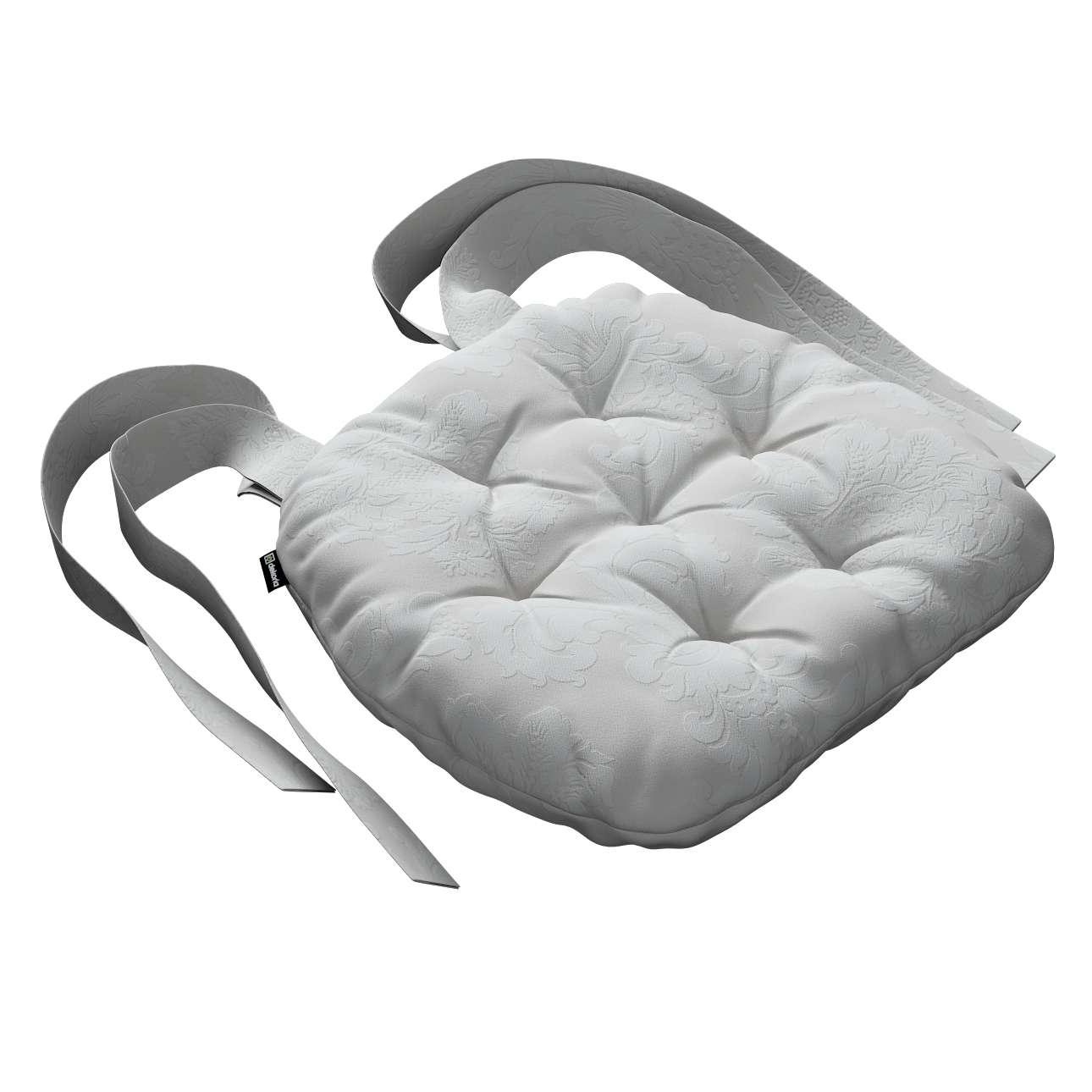 Siedzisko Marcin na krzesło 40x37x8cm w kolekcji Damasco, tkanina: 613-81