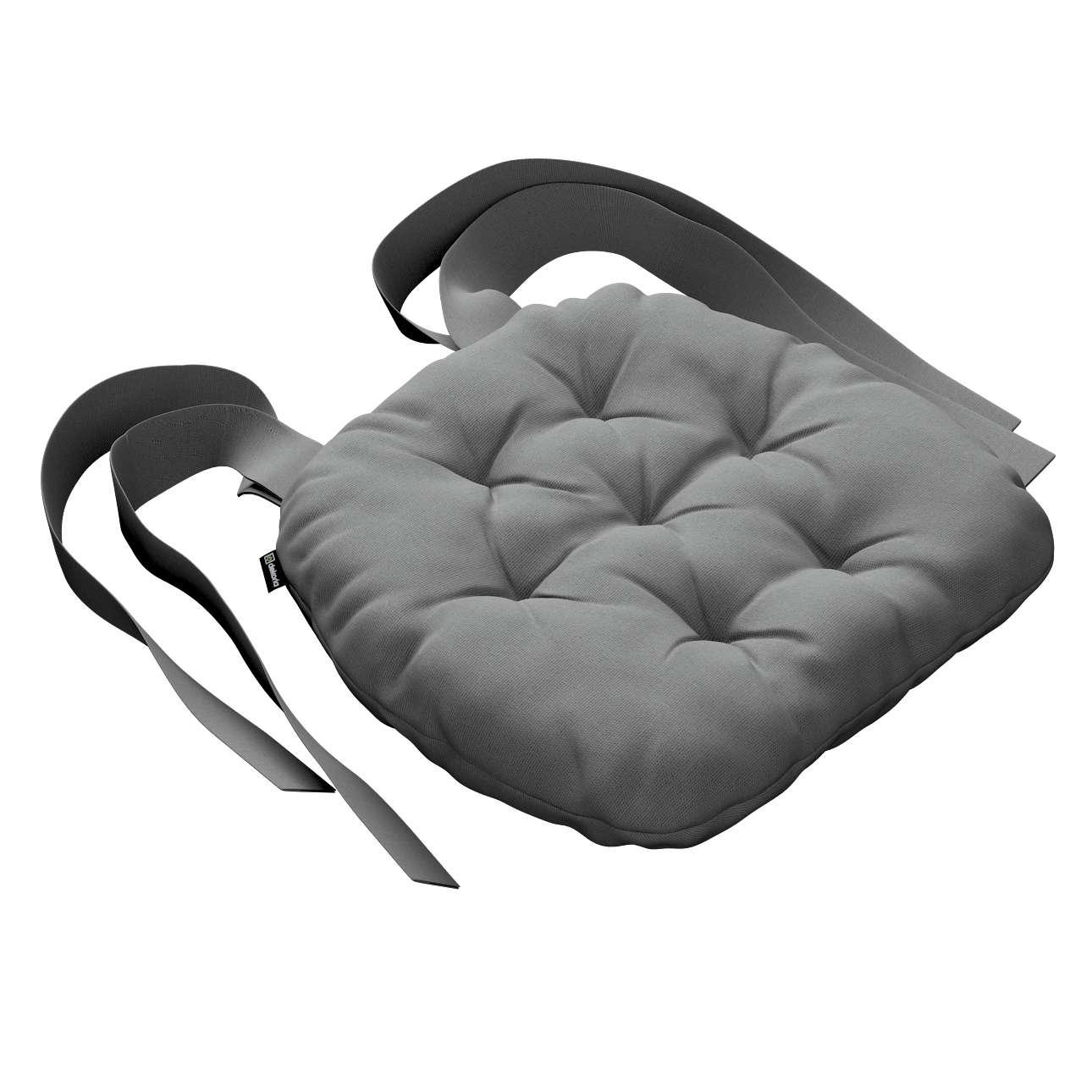 Siedzisko Marcin na krzesło 40x37x8cm w kolekcji Loneta, tkanina: 133-24