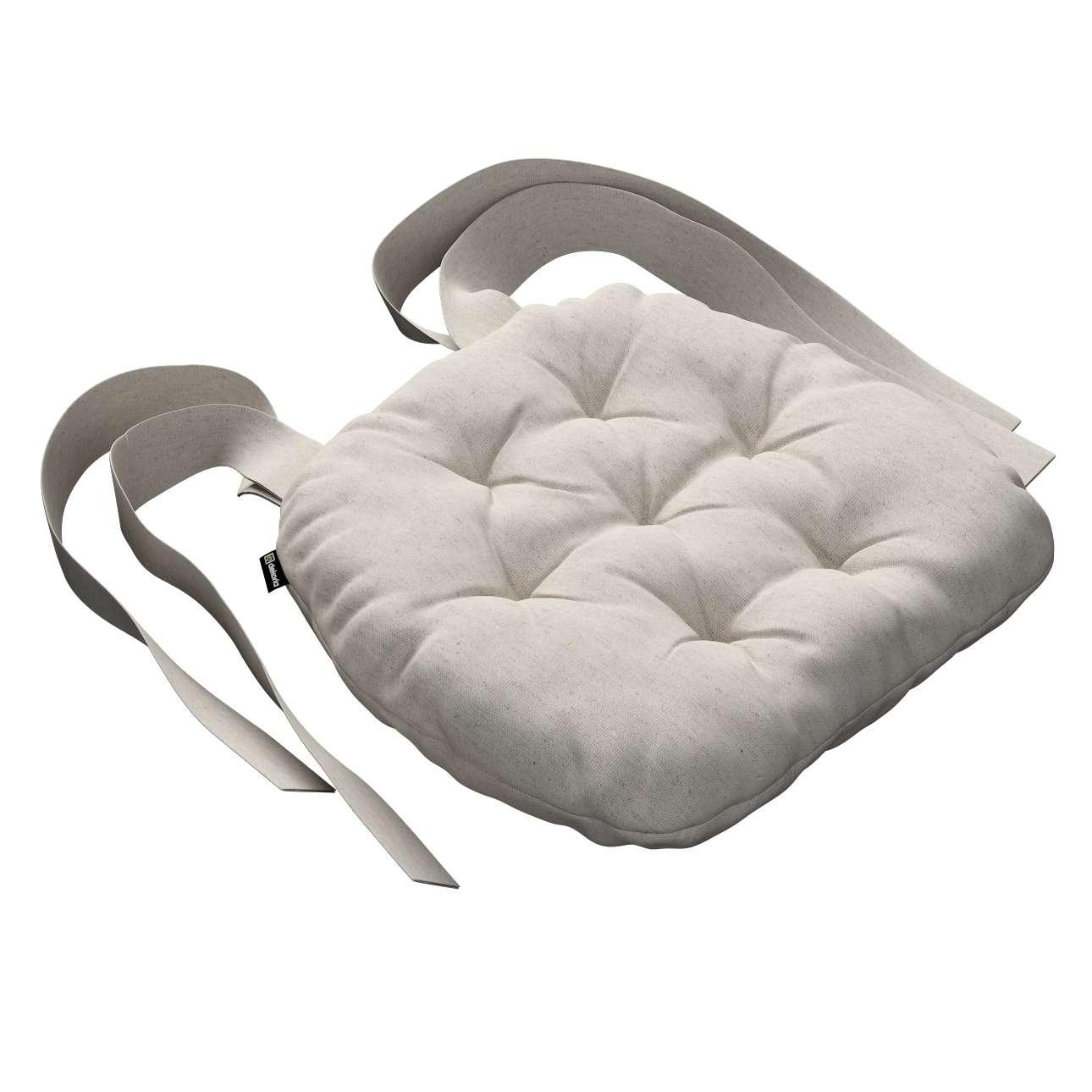 Siedzisko Marcin na krzesło 40x37x8cm w kolekcji Loneta, tkanina: 133-65