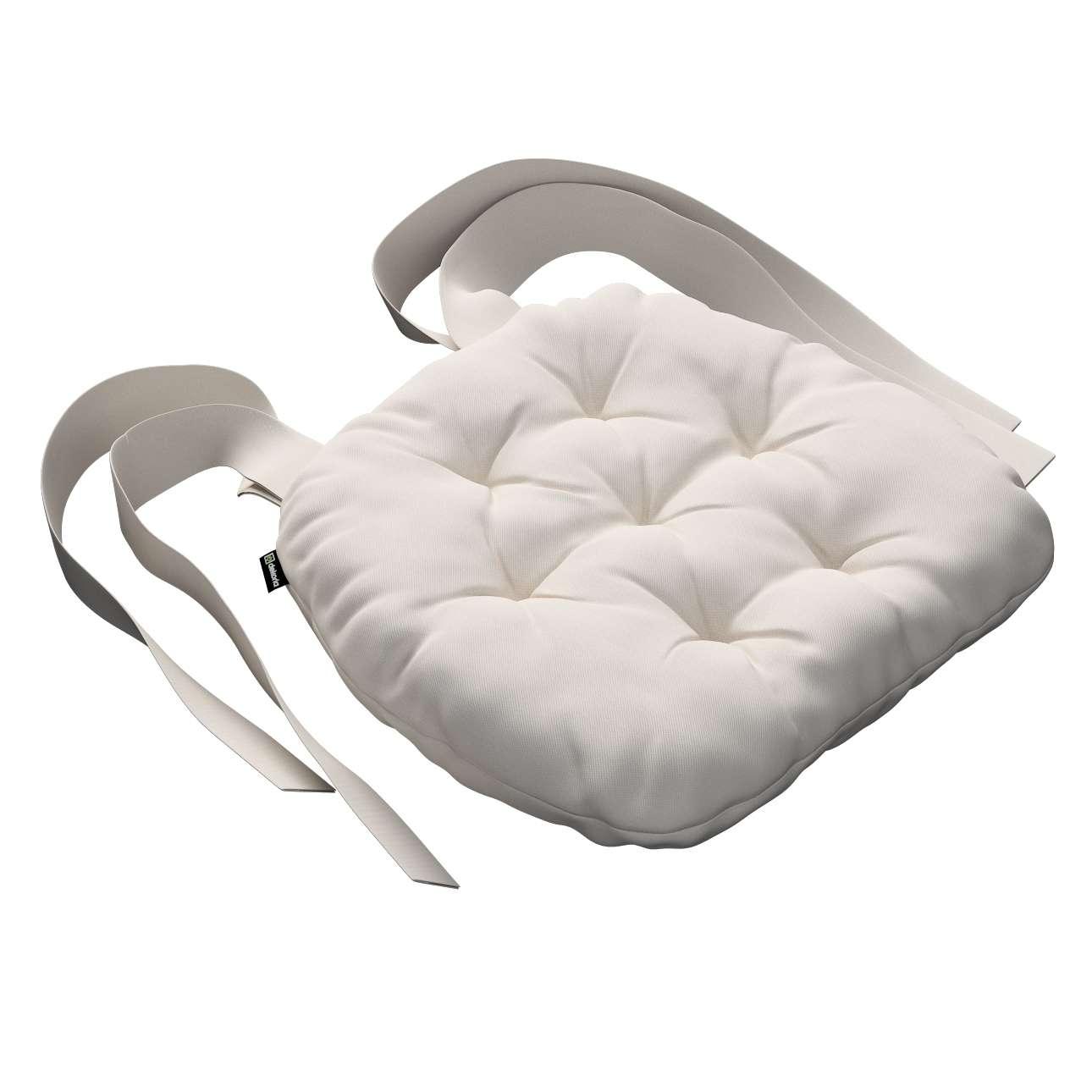 Kėdės pagalvėlė Marcin (apvaliais kraštais) 40 x 37 x 8 cm kolekcijoje Etna , audinys: 705-01