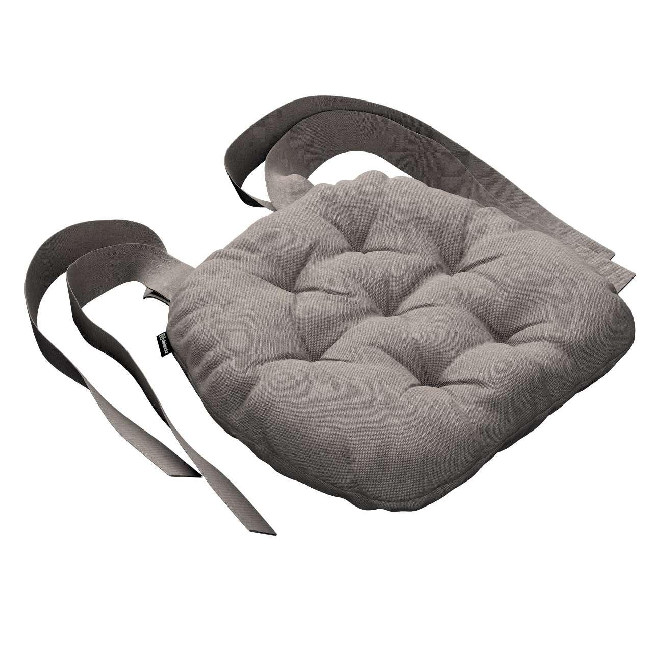 Kėdės pagalvėlė Marcin (apvaliais kraštais) 40 x 37 x 8 cm kolekcijoje Etna , audinys: 705-09