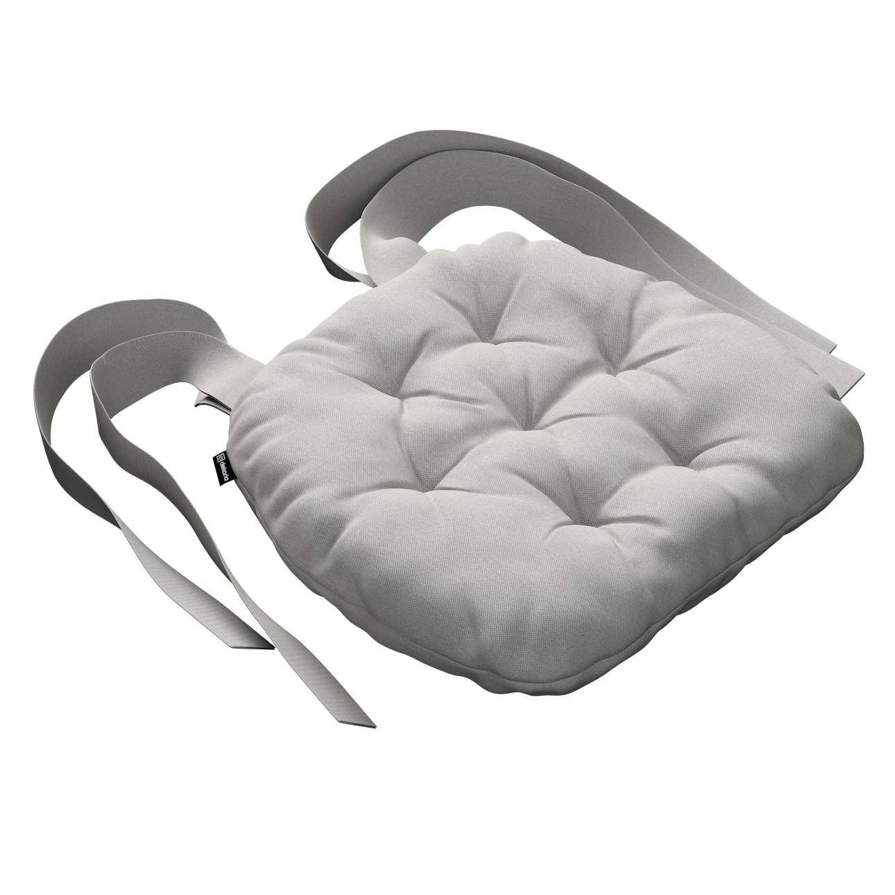 Kėdės pagalvėlė Marcin (apvaliais kraštais) 40 x 37 x 8 cm kolekcijoje Etna , audinys: 705-90