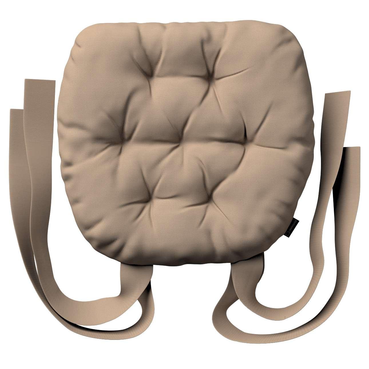 Kėdės pagalvėlė Marcin (apvaliais kraštais) 40 x 37 x 8 cm kolekcijoje Cotton Panama, audinys: 702-28