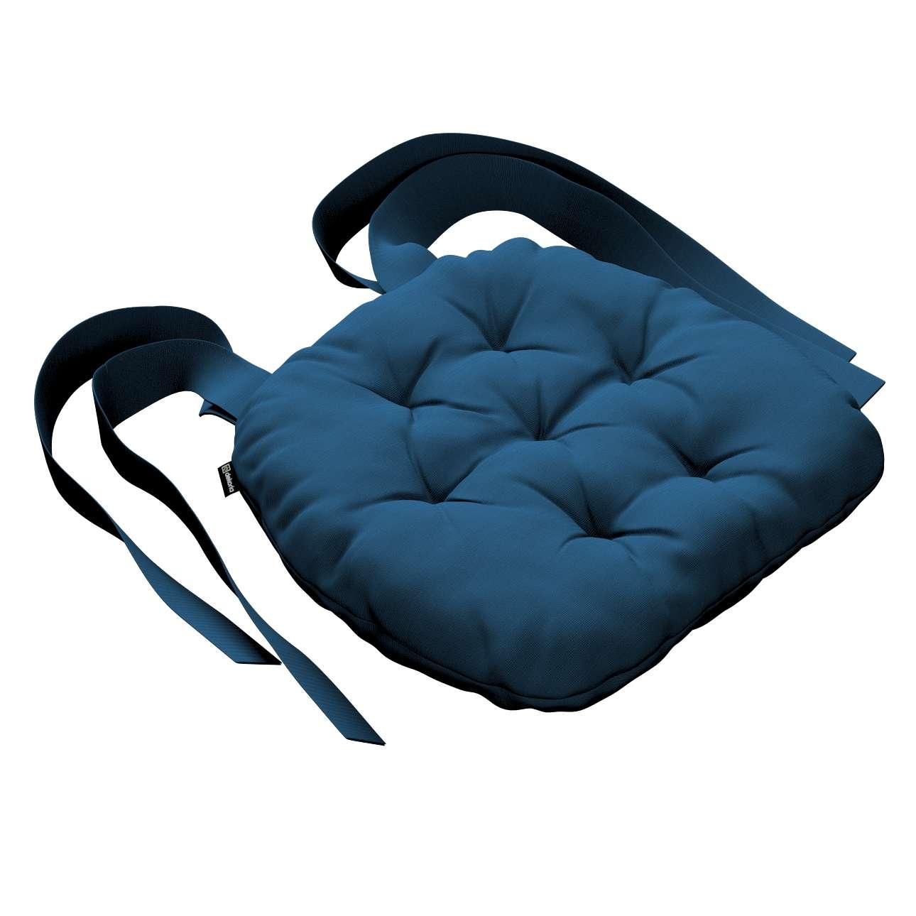Kėdės pagalvėlė Marcin (apvaliais kraštais) 40 x 37 x 8 cm kolekcijoje Cotton Panama, audinys: 702-30