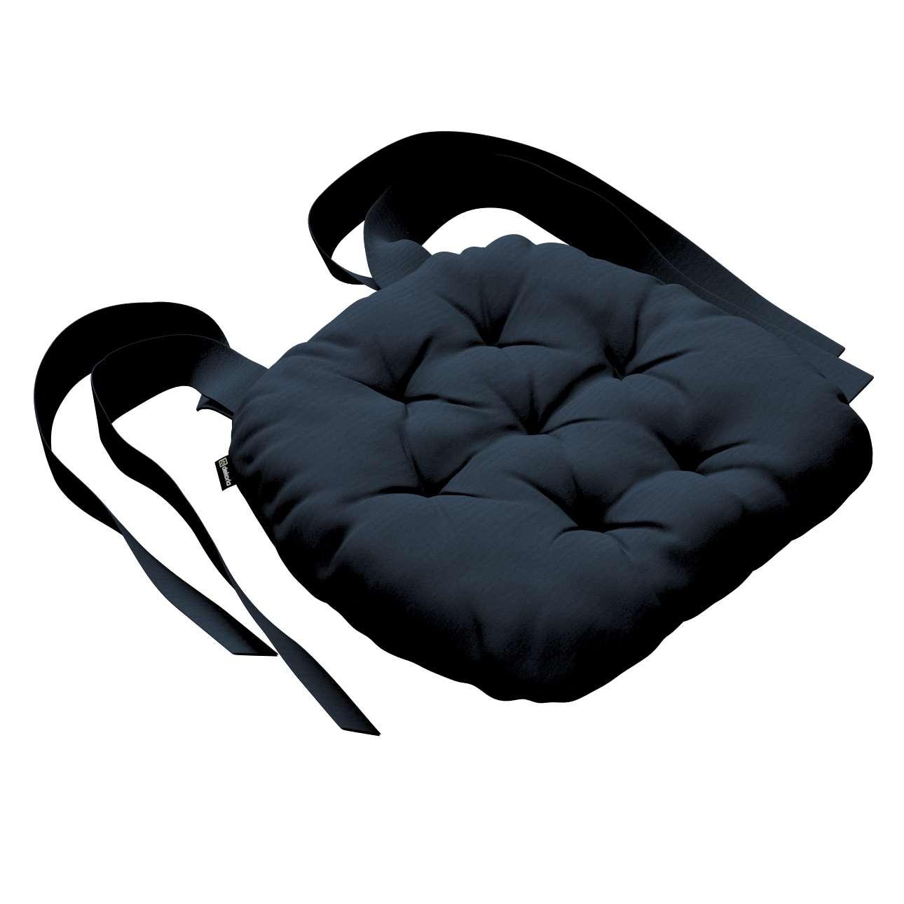 Siedzisko Marcin na krzesło 40x37x8cm w kolekcji Quadro, tkanina: 136-04