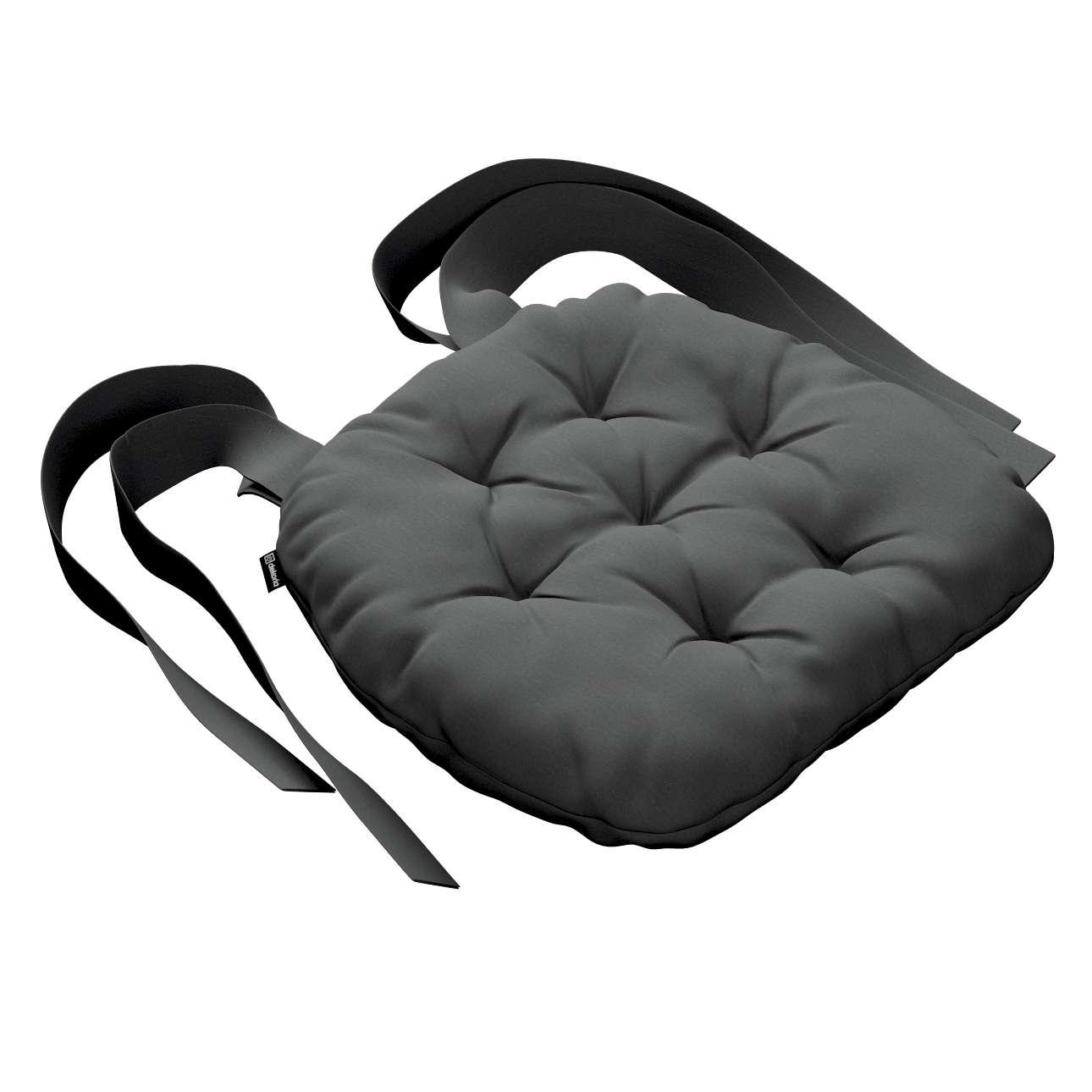 Kėdės pagalvėlė Marcin (apvaliais kraštais) 40 x 37 x 8 cm kolekcijoje Quadro, audinys: 136-14