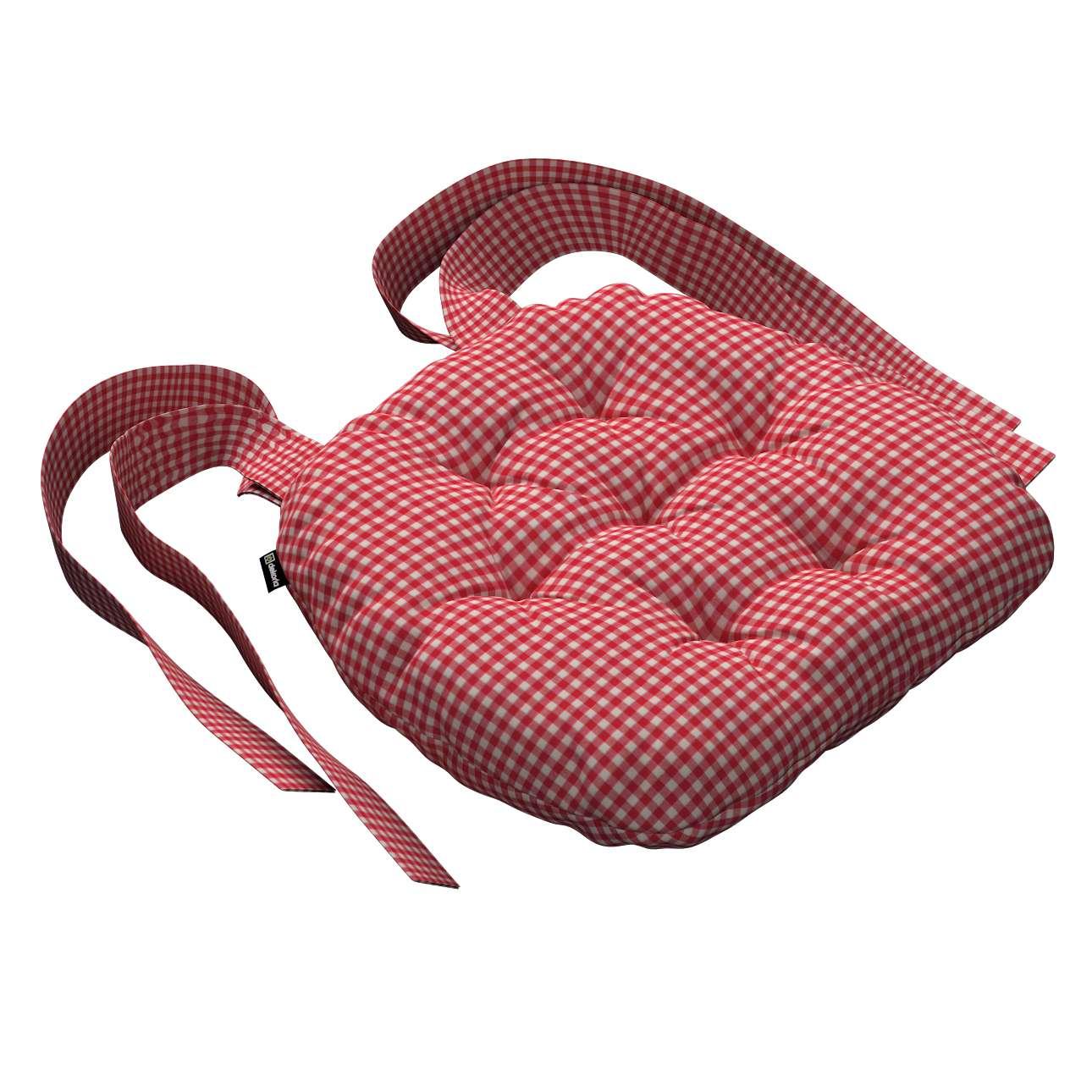 Kėdės pagalvėlė Marcin (apvaliais kraštais) 40 x 37 x 8 cm kolekcijoje Quadro, audinys: 136-15