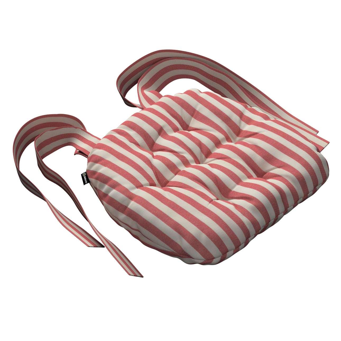 Kėdės pagalvėlė Marcin (apvaliais kraštais) 40 x 37 x 8 cm kolekcijoje Quadro, audinys: 136-17