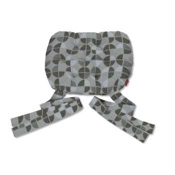 Marcin seat pad with bows