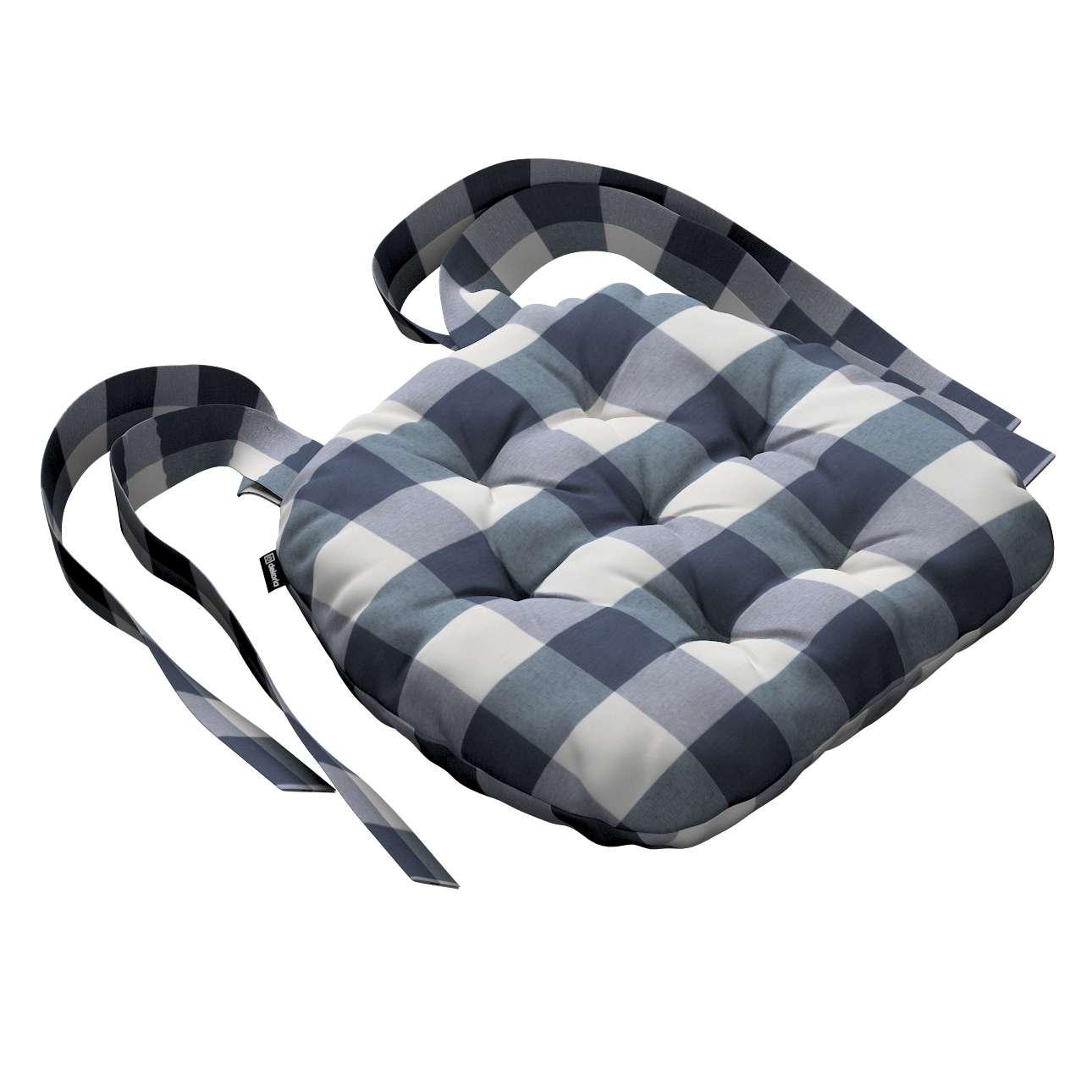 Siedzisko Marcin na krzesło 40x37x8cm w kolekcji Quadro, tkanina: 136-03
