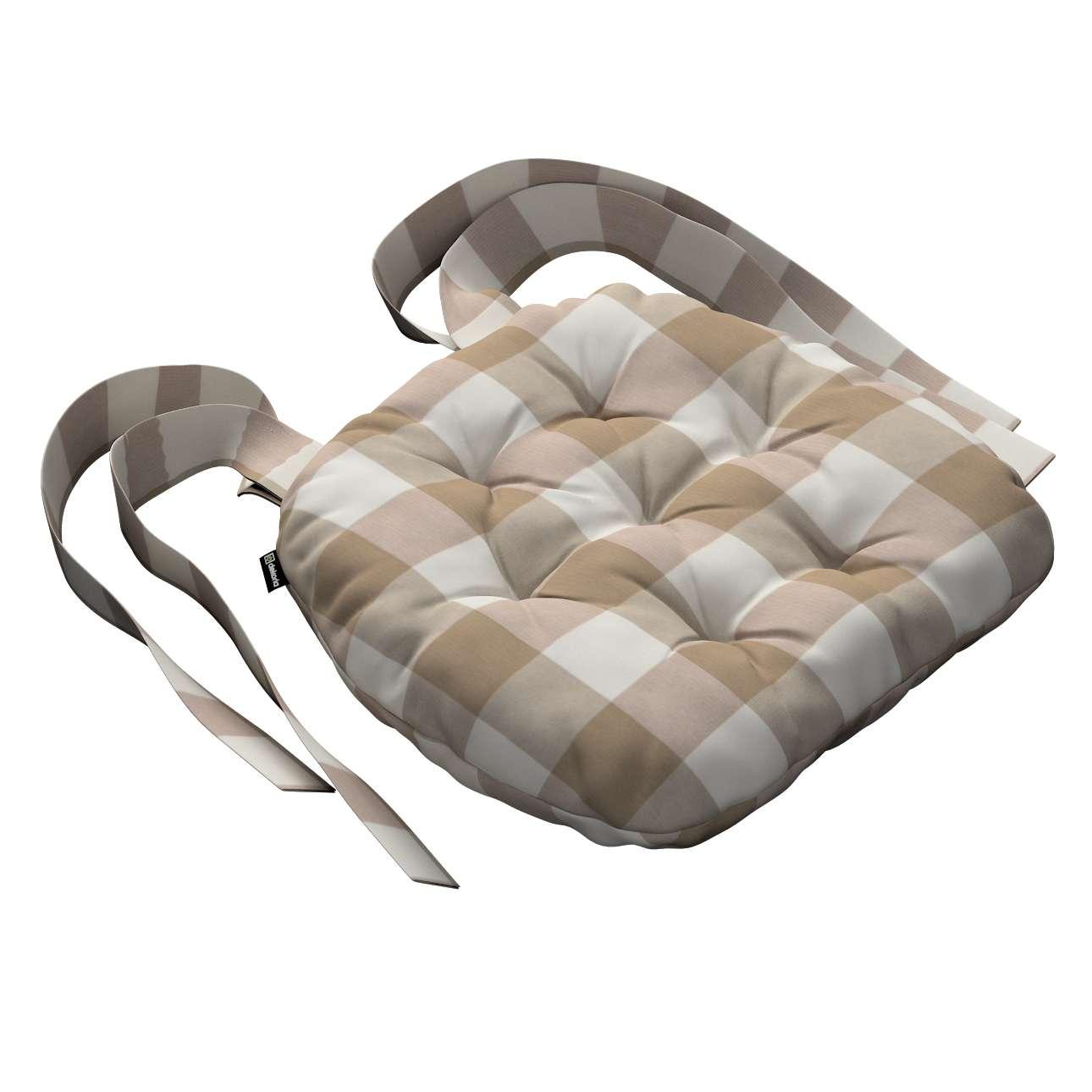 Siedzisko Marcin na krzesło 40x37x8cm w kolekcji Quadro, tkanina: 136-08