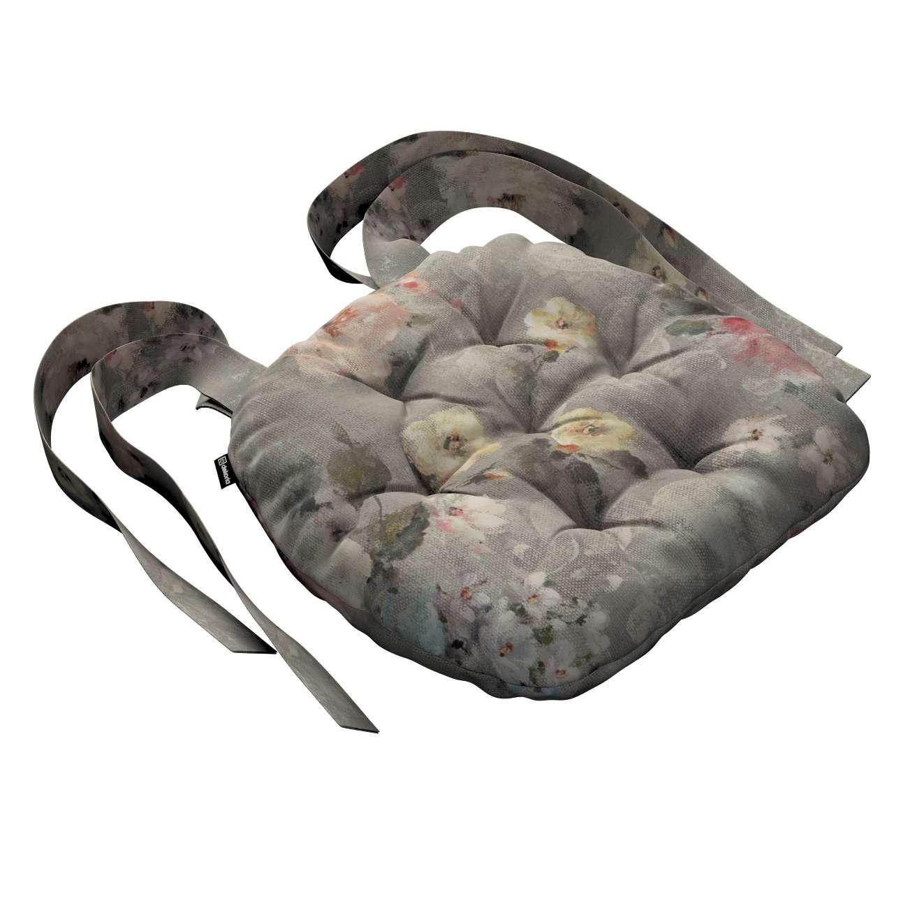 Siedzisko Marcin na krzesło 40x37x8cm w kolekcji Monet, tkanina: 137-81